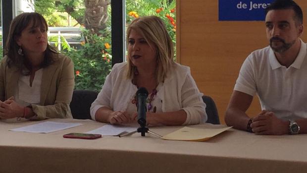 Mamen Sánchez afirma que hay ocho empresas de Jerez que se han visto afectadas por este ataque