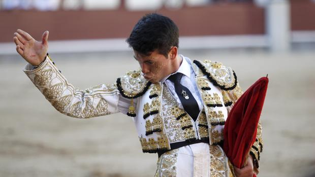 Manolo Vanegas en Las Ventas, en una imagen de archivo en 2016