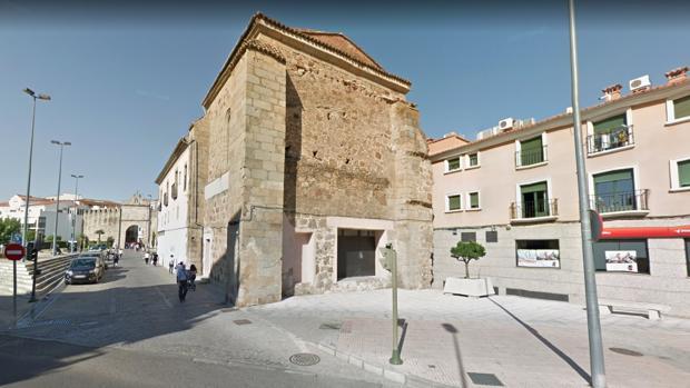El antiguo Hospital de la Santa Cruz de San Roque de Plasencia