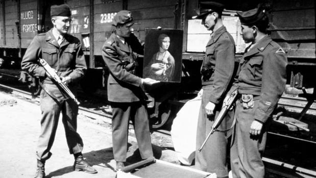 La salvación de «La dama del armiño» de Leonardo, durante la II Guerra Mundial