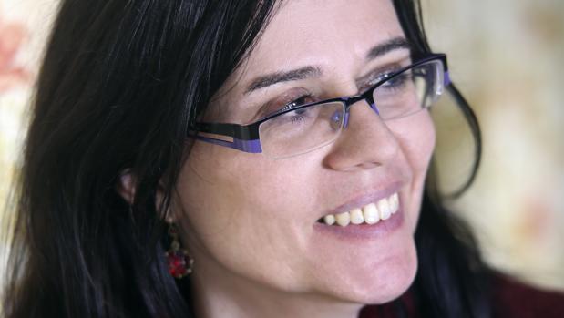 La escritora Elena Marqués