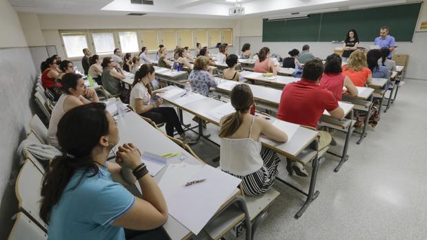 Un 9,7% de las 20.698 plazas ofertadas para profesor de Secundaria quedó vacante en las oposiciones de junio