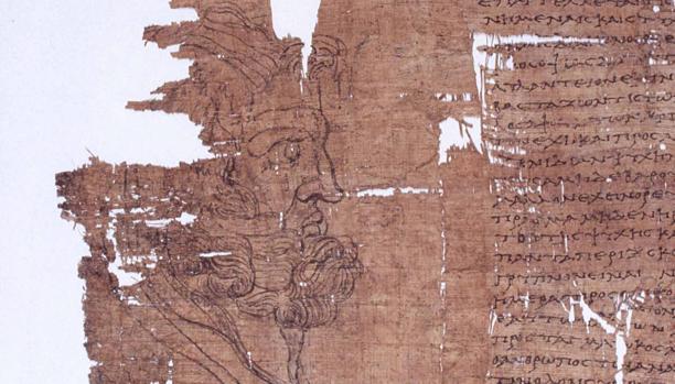 Fragmento del «papiro de Artemidoro»
