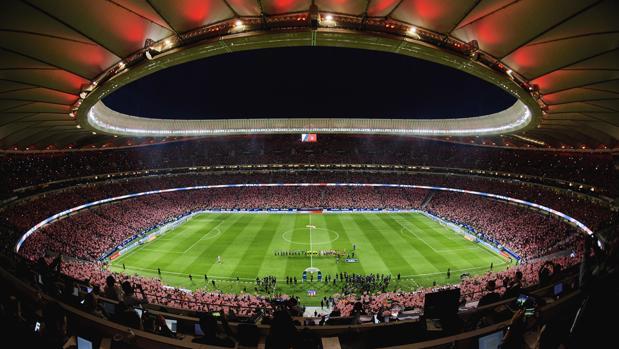 El Wanda Metropolitano el día de su inauguración