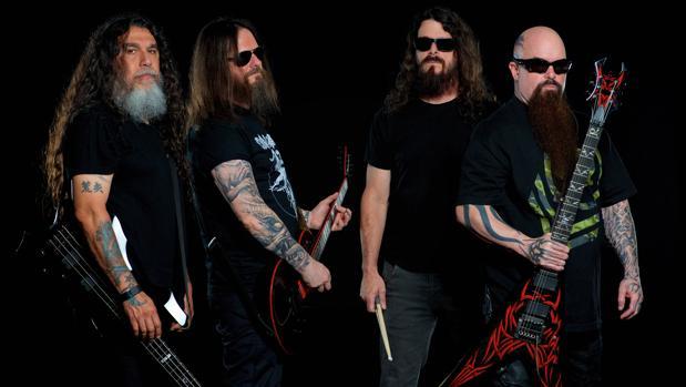 Los integrantes de la banda de «trash metal» Slayer