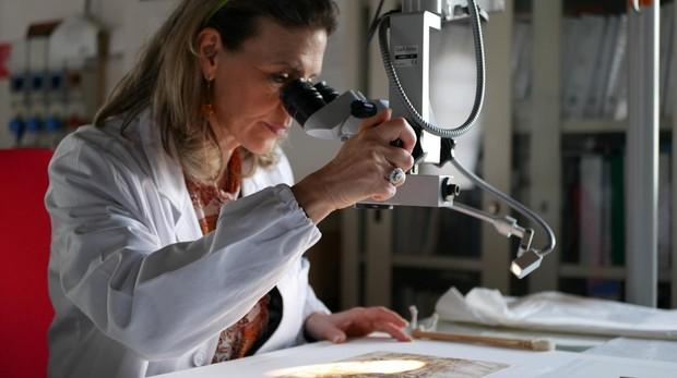 Una investigadora analiza «Paesaggio», de Da Vinci