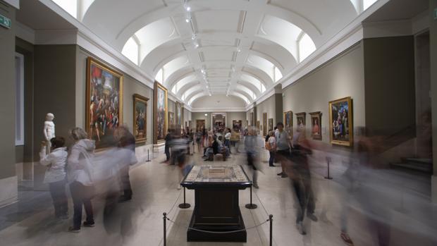 Galería central del Prado
