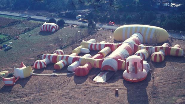 «Instant City» (Ibiza, 1971), una de las obras de Prada Poole