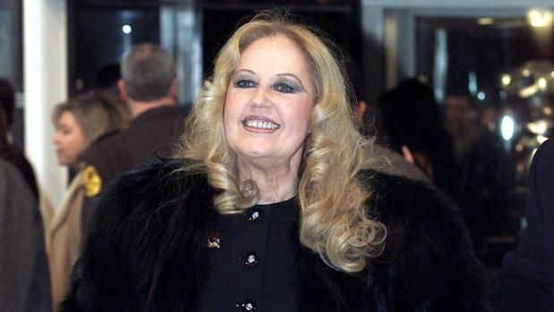 Analía Gadé, en los premios Goya de 2002