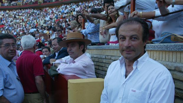 Fernando Domecq en una imagen de archivo en la plaza de toros de Córdoba