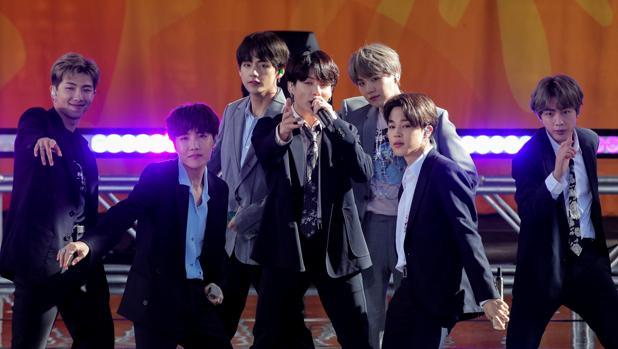 La exitosa banda surcoreana de K-Pop BTS