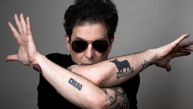 El músico argentino Andrés Calamaro