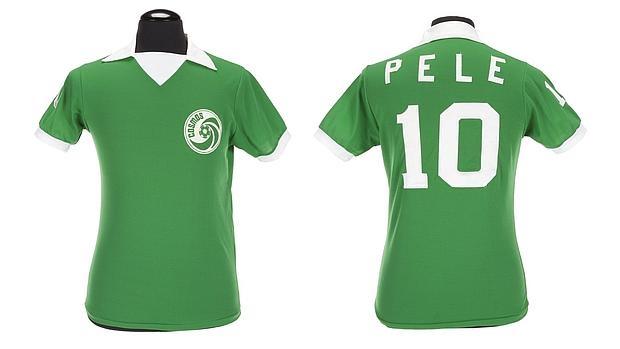 Camiseta de Pelé en el mítico New York Cosmos de los setenta