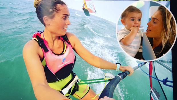 La sevillana Blanca Manchón celebra su sexto título mundial absoluto en las tablas de vela