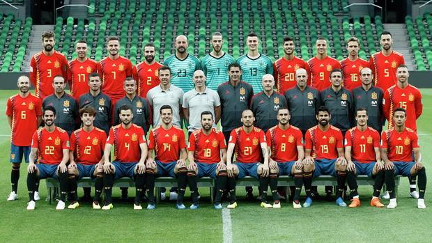 Nueva foto oficial de la selección