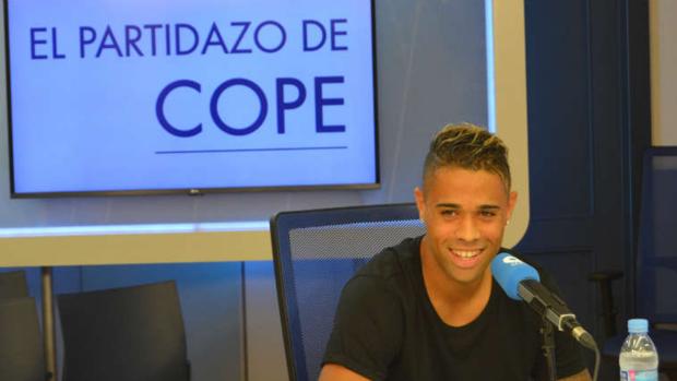 Mariano Díaz durante su entrevista en 'El partidazo de COPE'