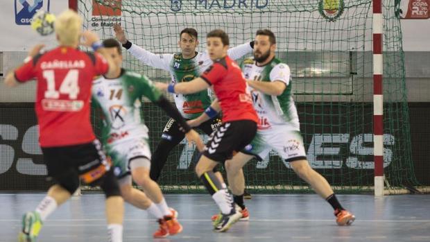 Partido de cuartos de final de la liga ASOBAL 2018 entre el BM Granollers y el Ángel Ximénez