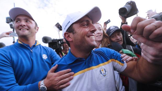 Rahm y Molinari, tras el triunfo europeo