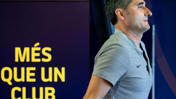 Valverde tras comparecer ante los medios de comunicación