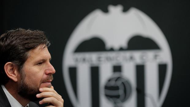 El director general del Valencia, Mateo Alemany