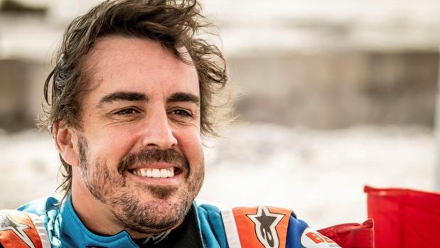 Fernando Alonso, fotografiado durante las pruebas para el Dakar