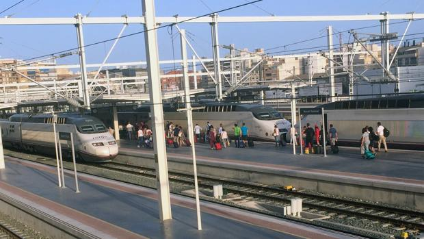 Estación de AVE en Alicante