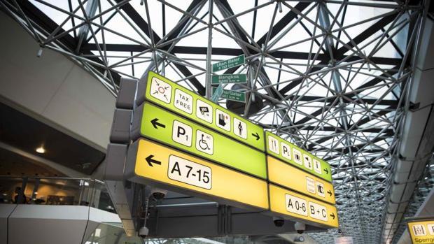 Terminal del aeropuerto Tegel en Berlín