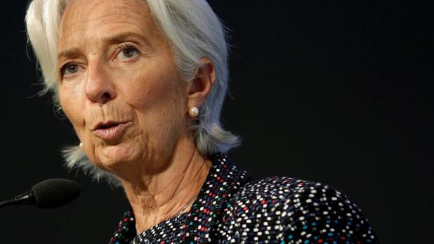 La directora del FMI, Christine Lagarde