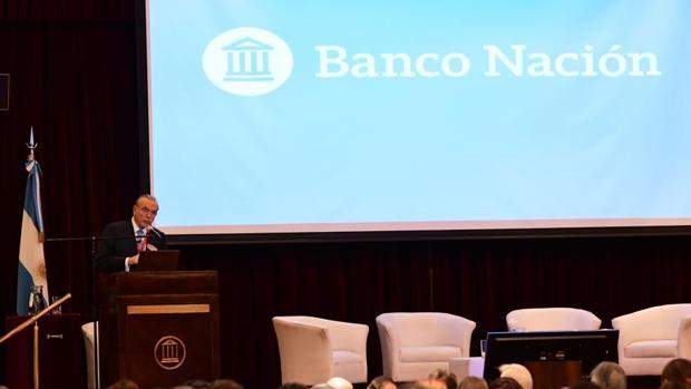 Isidro Fainé durante su intervención en la conferencia en Argentina