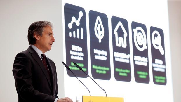 El ministro de Fomento, Íñigo de la Serna, presenta el Plan Inmobiliario del Aeropuerto Adolfo Suárez Madrid-Barajas, que abarcará 920 hectáreas de suelos potenciales