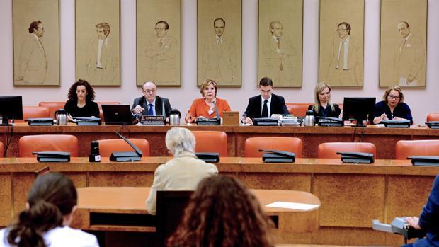 Imagen de archivo de la comisión del Pacto de Toledo