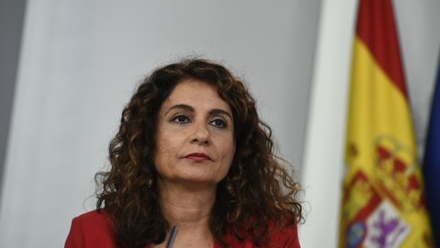 María Jesús Montero, ministra de Hacienda, en la rueda de prensa del último Consejo de Ministros