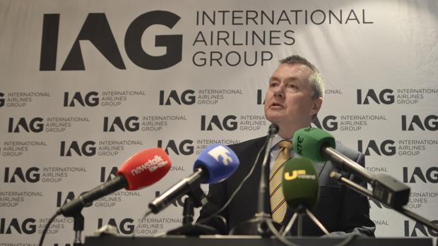 Wille Walsh, consejero delegado de IAG