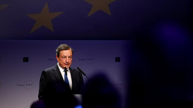 """Para el presidente del BCE, Mario Draghi, «la respuesta correcta es más Europa""""»"""