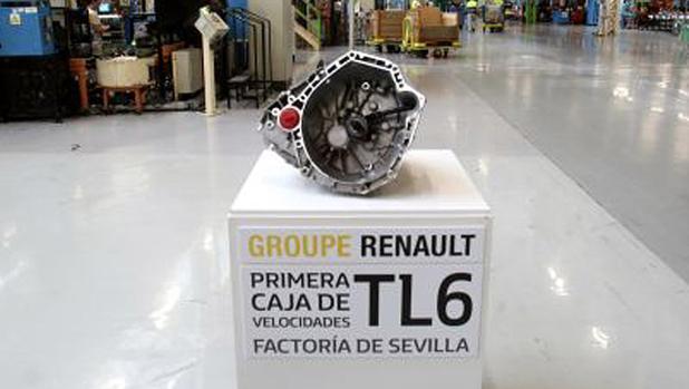 En la factoría de Renault de Sevilla se hace la caja de velocidades del modelo Mégane IV
