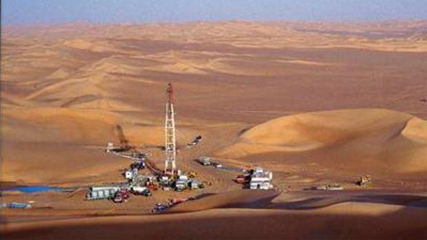 Yacimiento en la cuenca de Murzuq, al sur de Libia