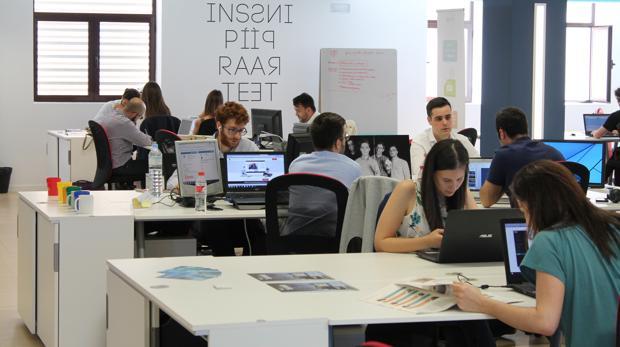 Uno de los centros de crowdworking de Andalucía Open Future