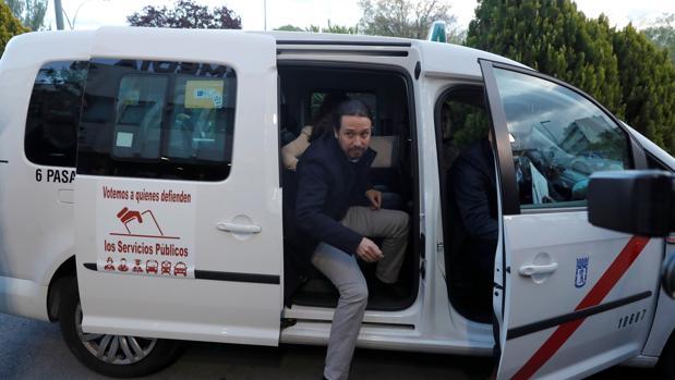 Pablo Iglesias exigió en el segundo debate electoral que «Cabify o Uber paguen impuestos aquí»