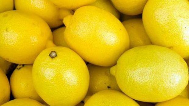 Limones maduros para su consumo