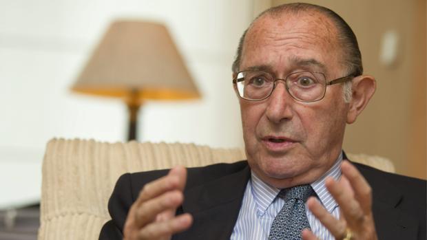 El presidente de la patronal de la construcción ANCI, Jaime Lamo de Espinosa, en 2012