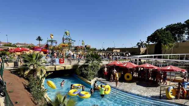 La atracción de Agua Mágica del parque de atracciones sevillano se financió con fondos europeos Jessica