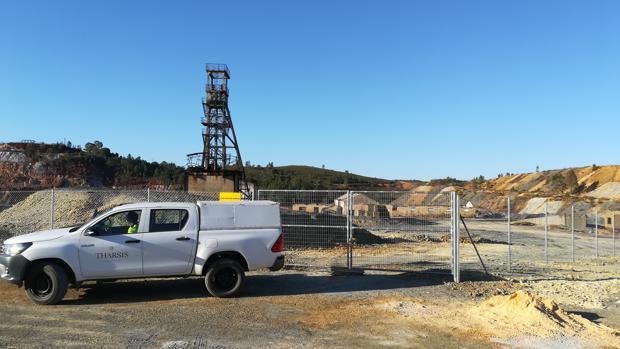 Vallado de la mina de SanTelmo, en Cortegana