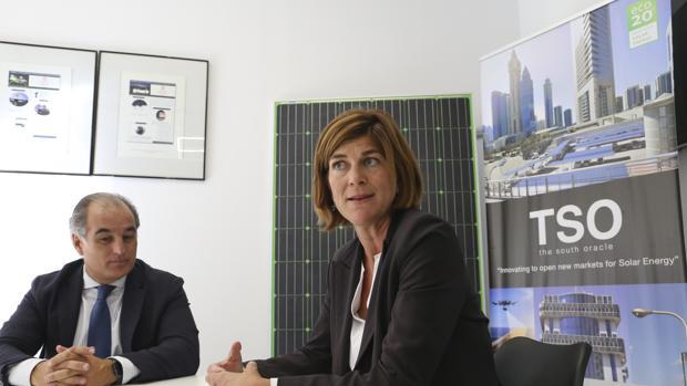 Cristina de Vicente y Antonio Calo, socios de la ingeniería sevillana TSO