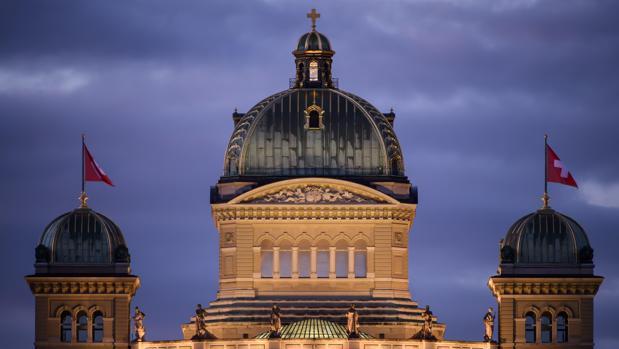 Sede del parlamento suizo en Berna