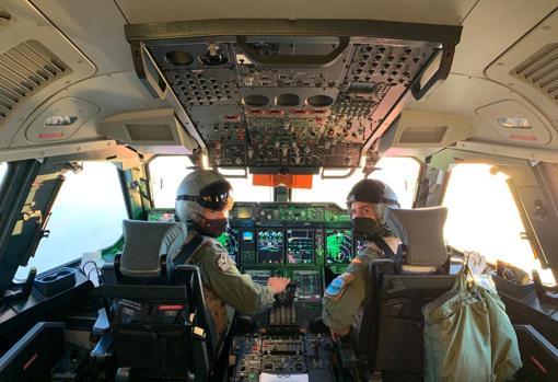 Dos pilotos de A400M del Ejército del Aire
