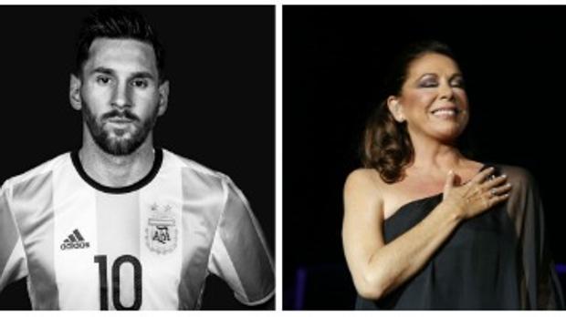 Leo Messi e Isabel Pantoja