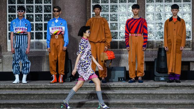 Uno de los desfiles de la Paris Fashion Week