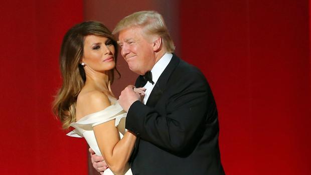 El matrimonio Trump