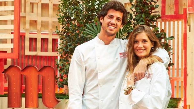 Jorge y Miri, concursantes de la última edición de «Masterchef»