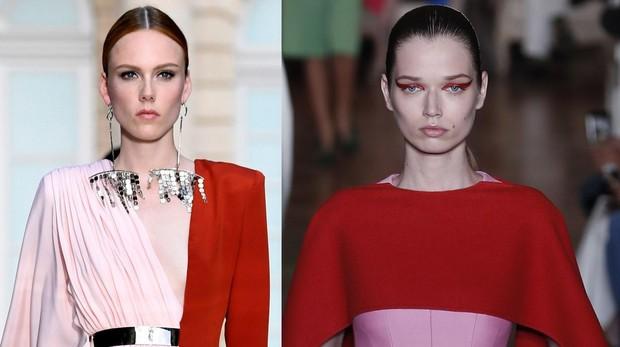 Diseños de Valentino y Givenchy
